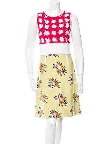 Patterned Knit Dress