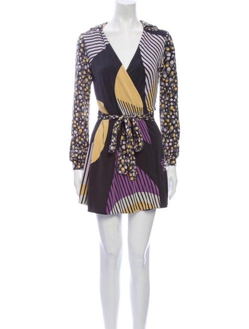 Issa Silk Mini Dress