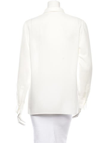 Button-Up Blouse w/ Tags