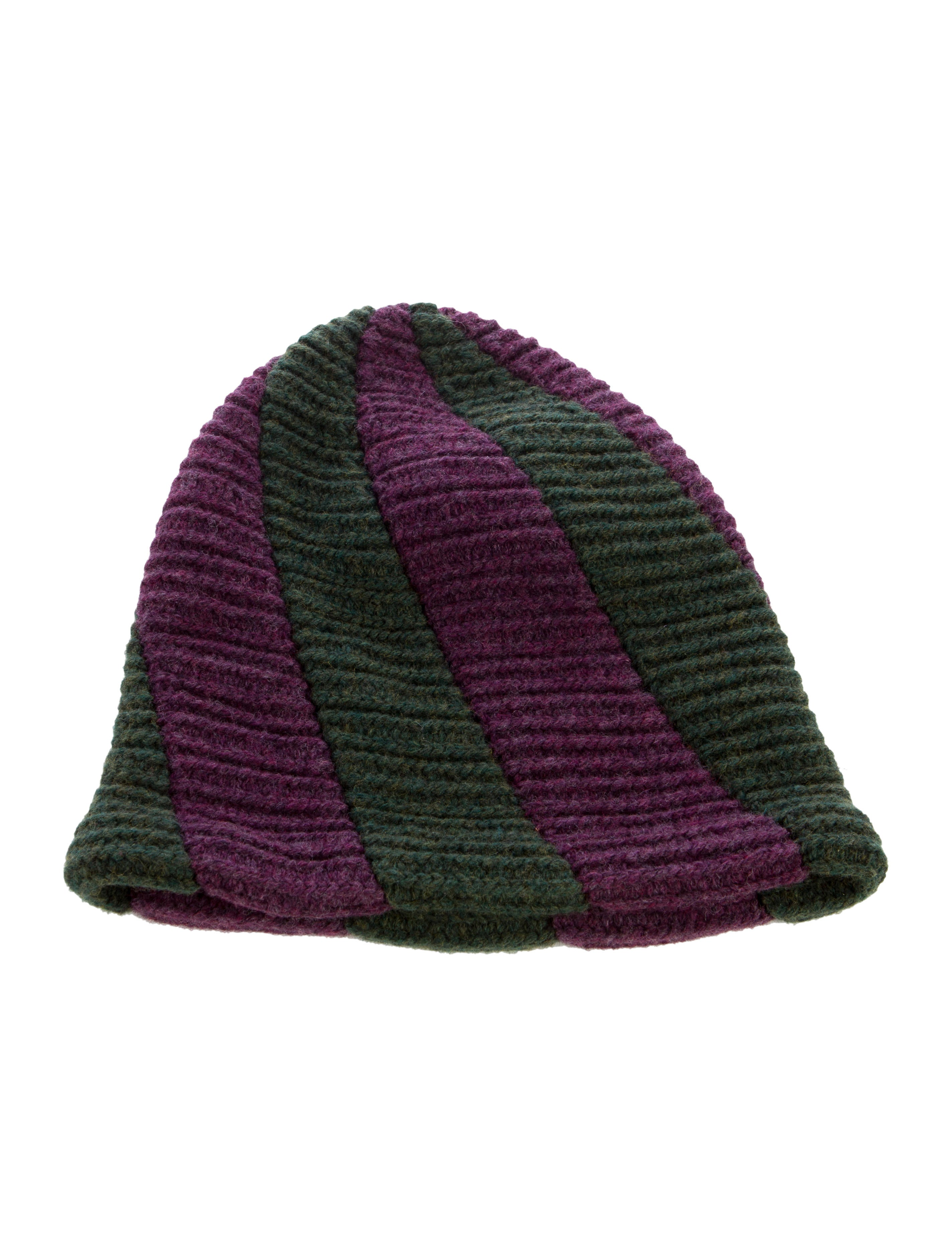 Issey Miyake Rib Knit Beanie - Accessories - ISS20722 The RealReal