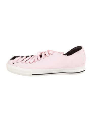 fake sale view Issey Miyake Canvas Low-Top Sneakers wnNM8uWX