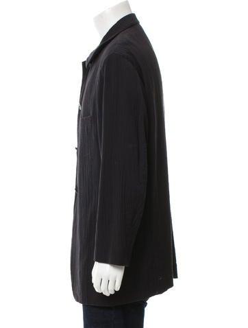 Deconstructed Plissé Jacket