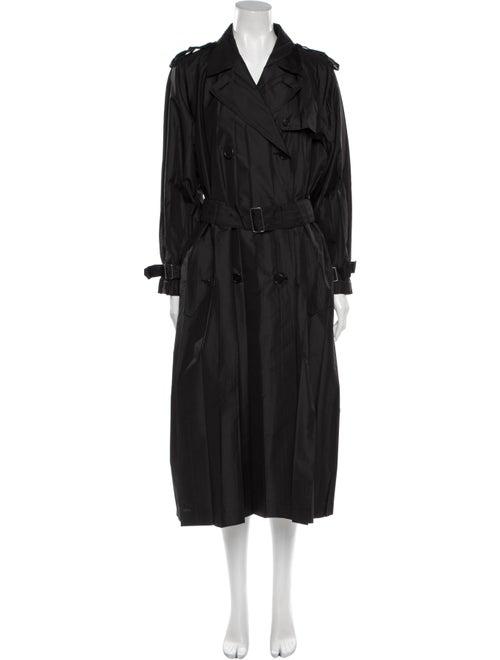 Issey Miyake Trench Coat Black