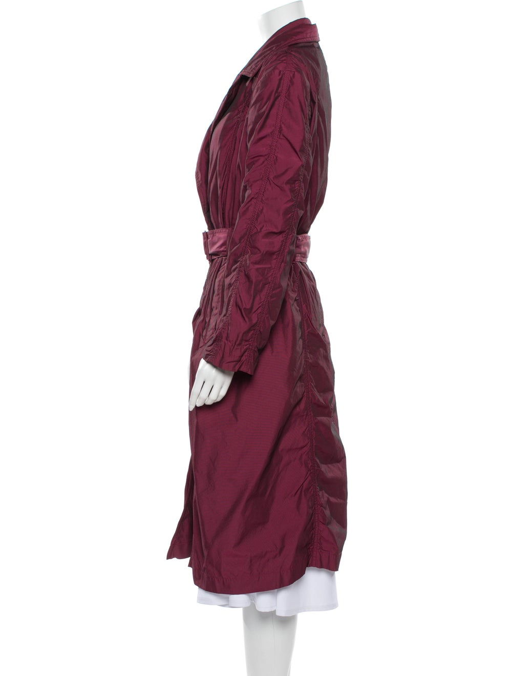 Issey Miyake Trench Coat Pink - image 2