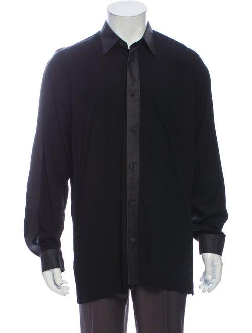 Issey Miyake Long Sleeve Shirt Black