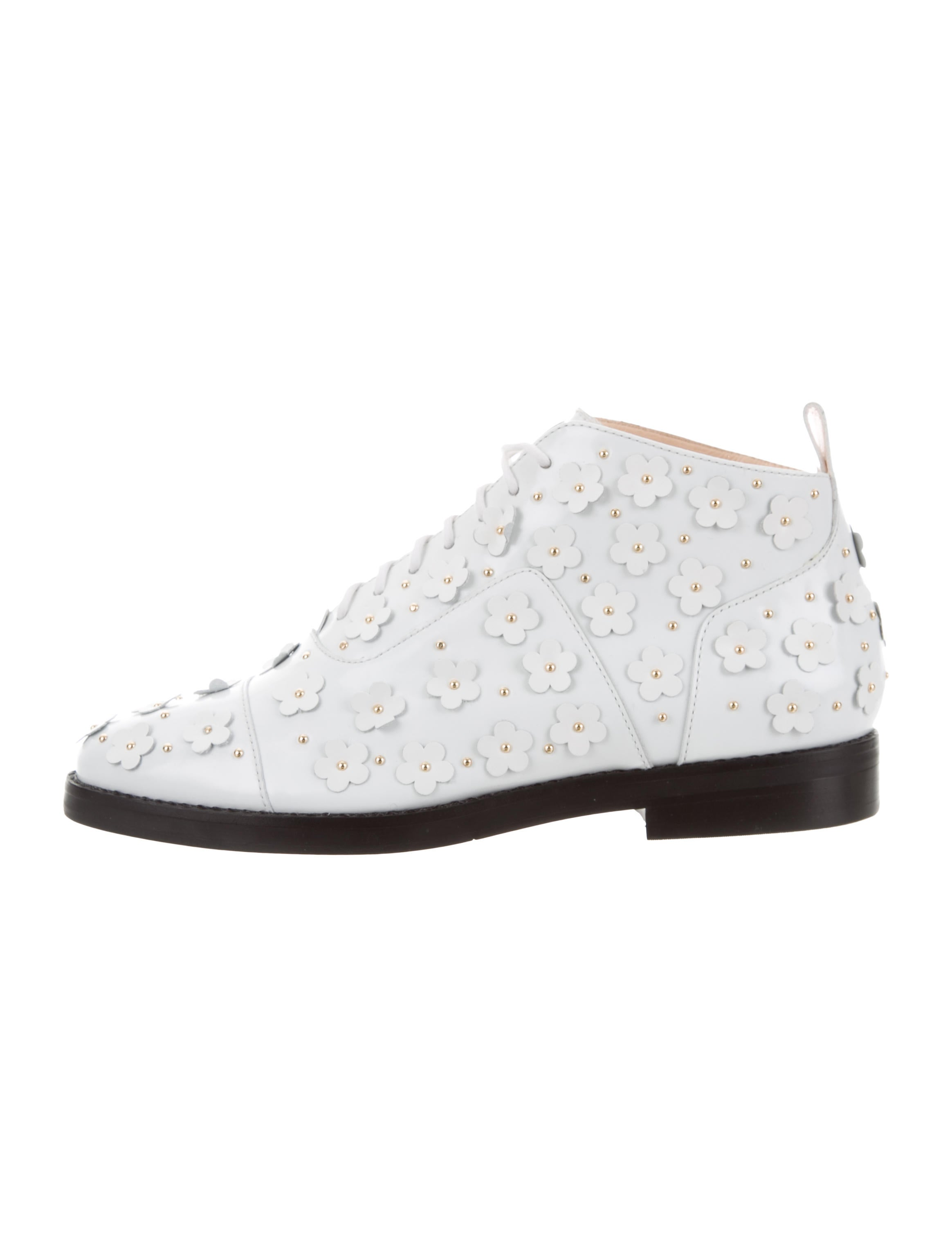 Isa Tapia Winston Floral Ankle Boots w/ Tags quality outlet store sale how much brand new unisex cheap price 2014 unisex cheap online ebay online mSTltI5m