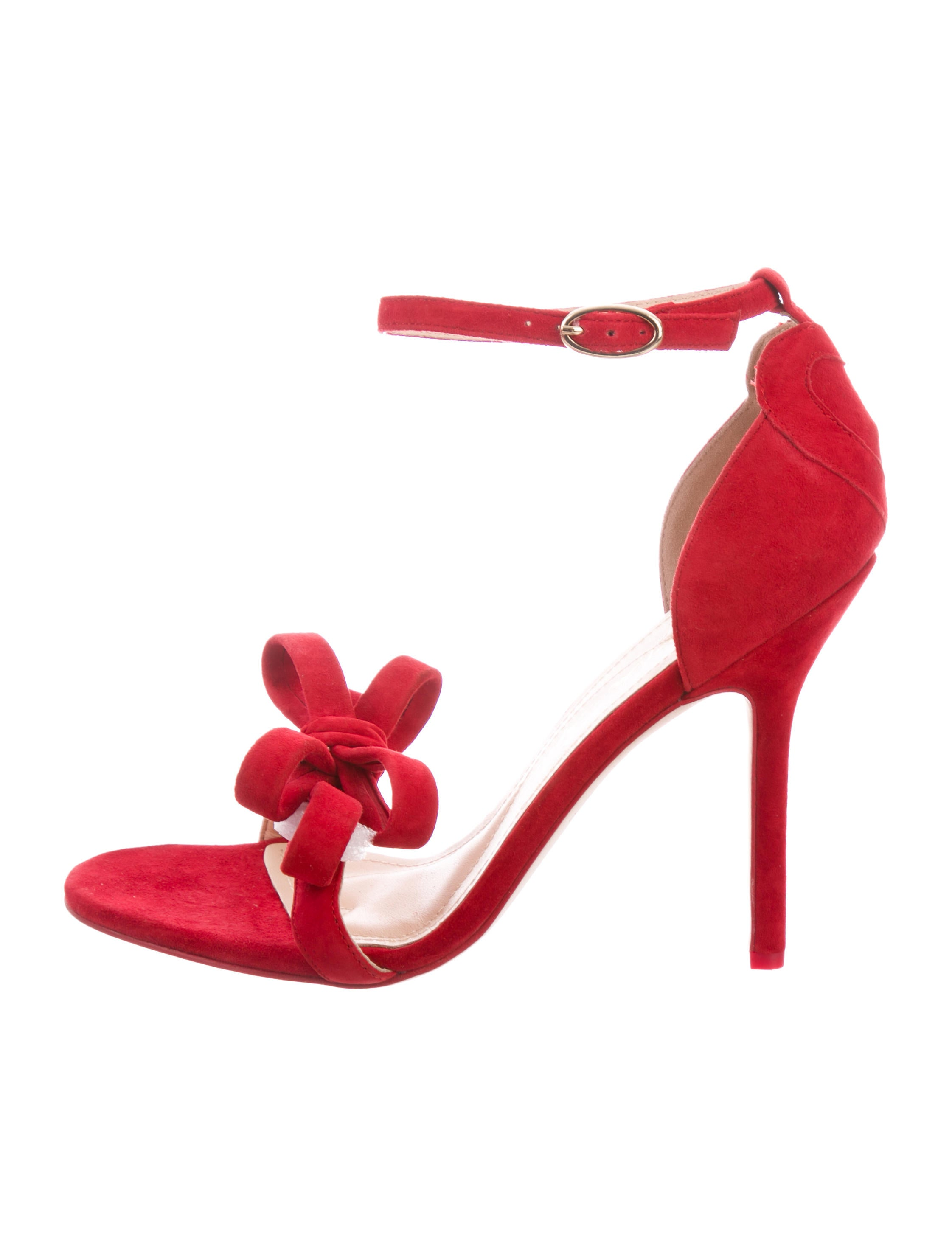 collections online Isa Tapia Shelby Bow-Accented Sandals w/ Tags outlet new arrival outlet low cost free shipping pick a best cheap visit new jdr0TJUD