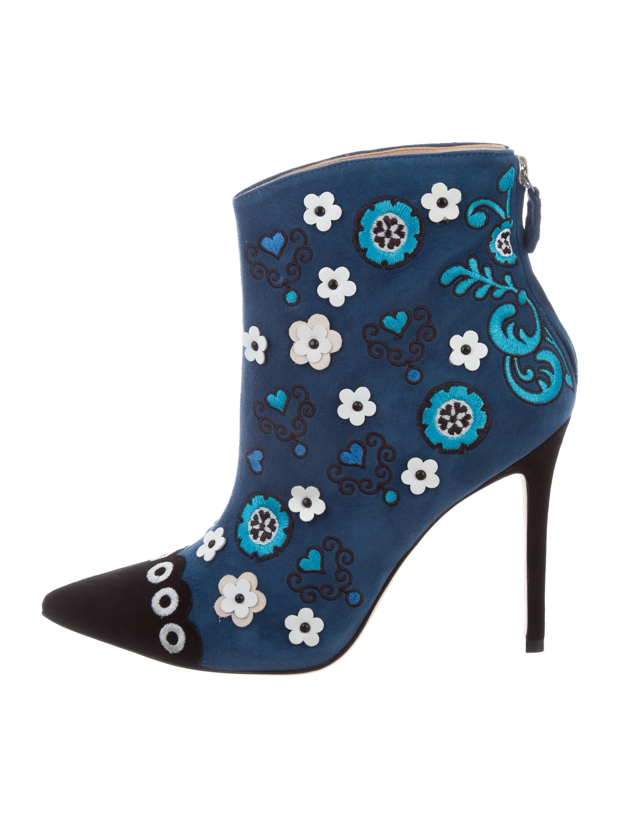 Isa Tapia Rumba Pointed-Toe Booties sale fashionable amazon online sast cheap latest 9YkoTlf3