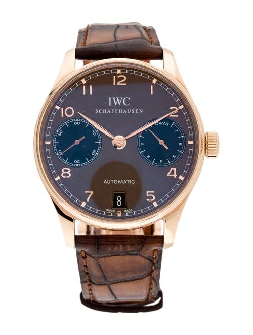 IWC Portugieser Watch rose