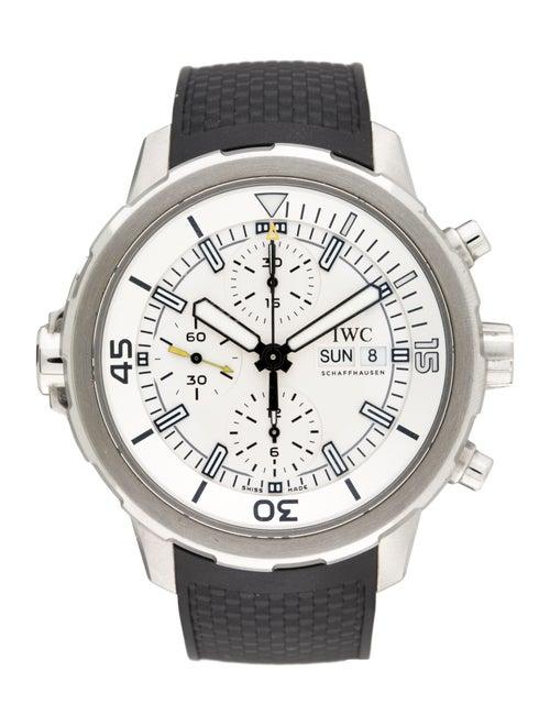 IWC Aquatimer watch silver