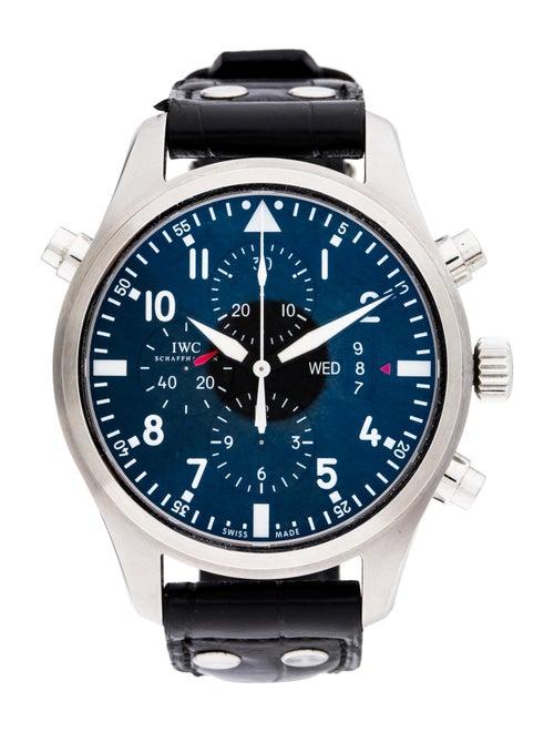 IWC Double Chronograph Pilot Watch black