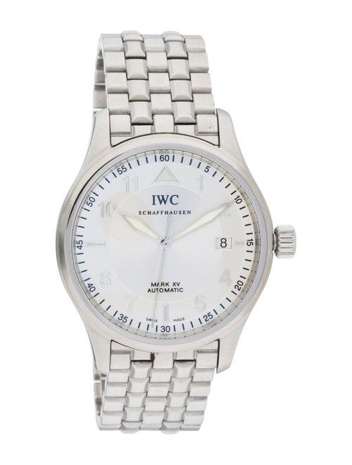 IWC Spitfire Mark XV Watch silver