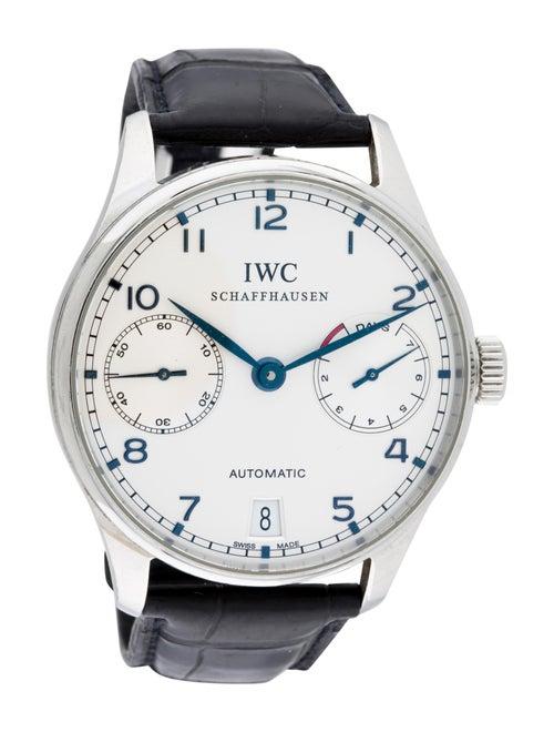 IWC Portuguese 7 Day Watch Silver