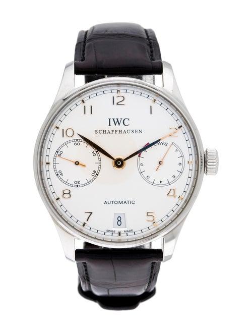 IWC Portuguese 7 Day Watch white