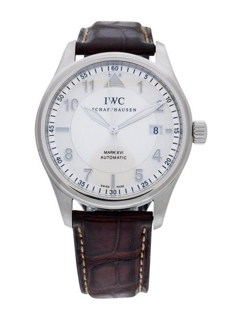 IWC Pilot's Mark XVI Watch Silver