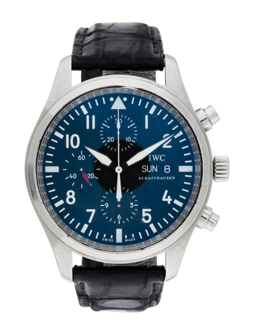 IWC Pilot's Chronograph Watch Black