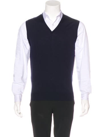 John Smedley Wool Sweater Vest None