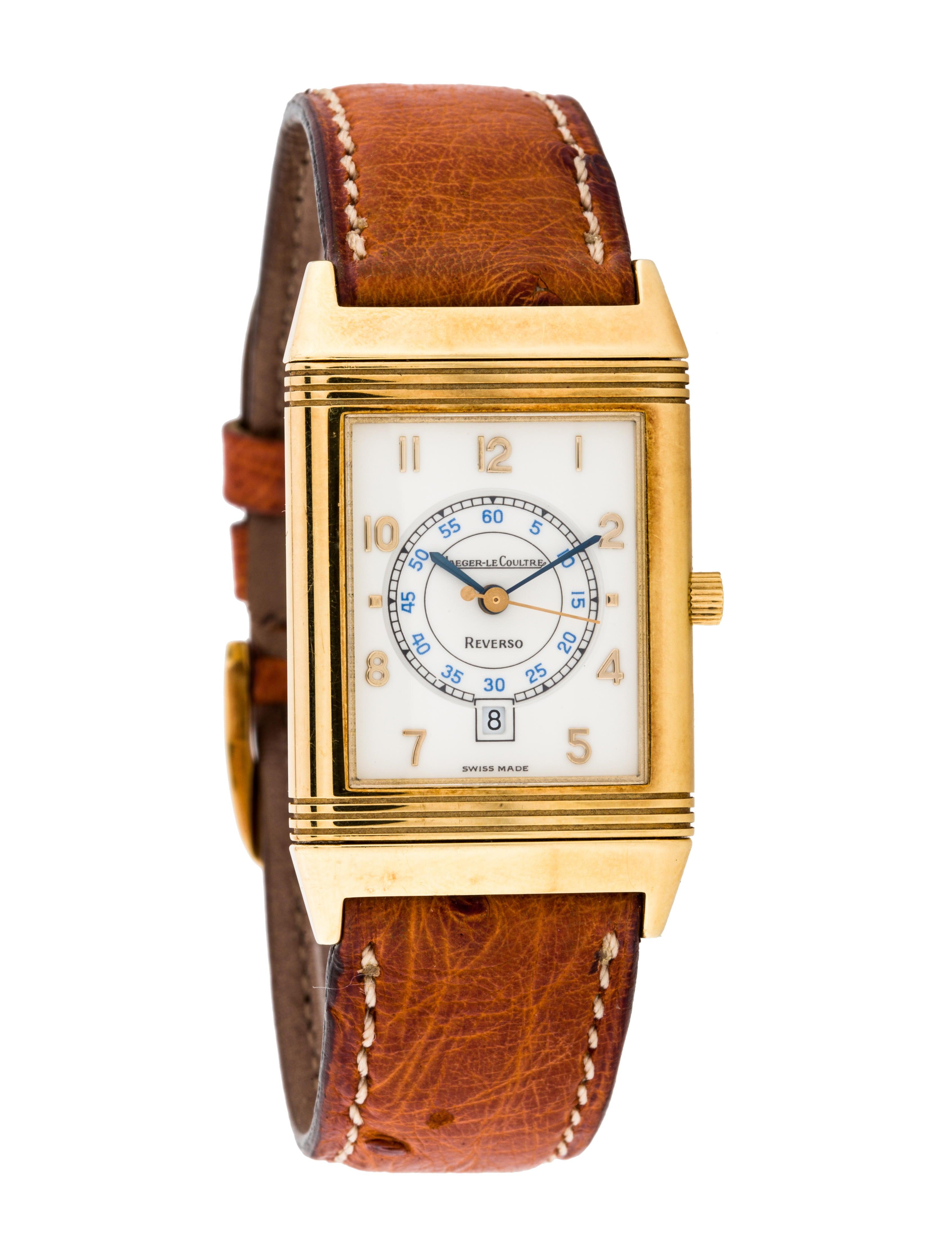 f3b867cc6809 Jaeger-LeCoultre Reverso Watch - Strap - JAE20432