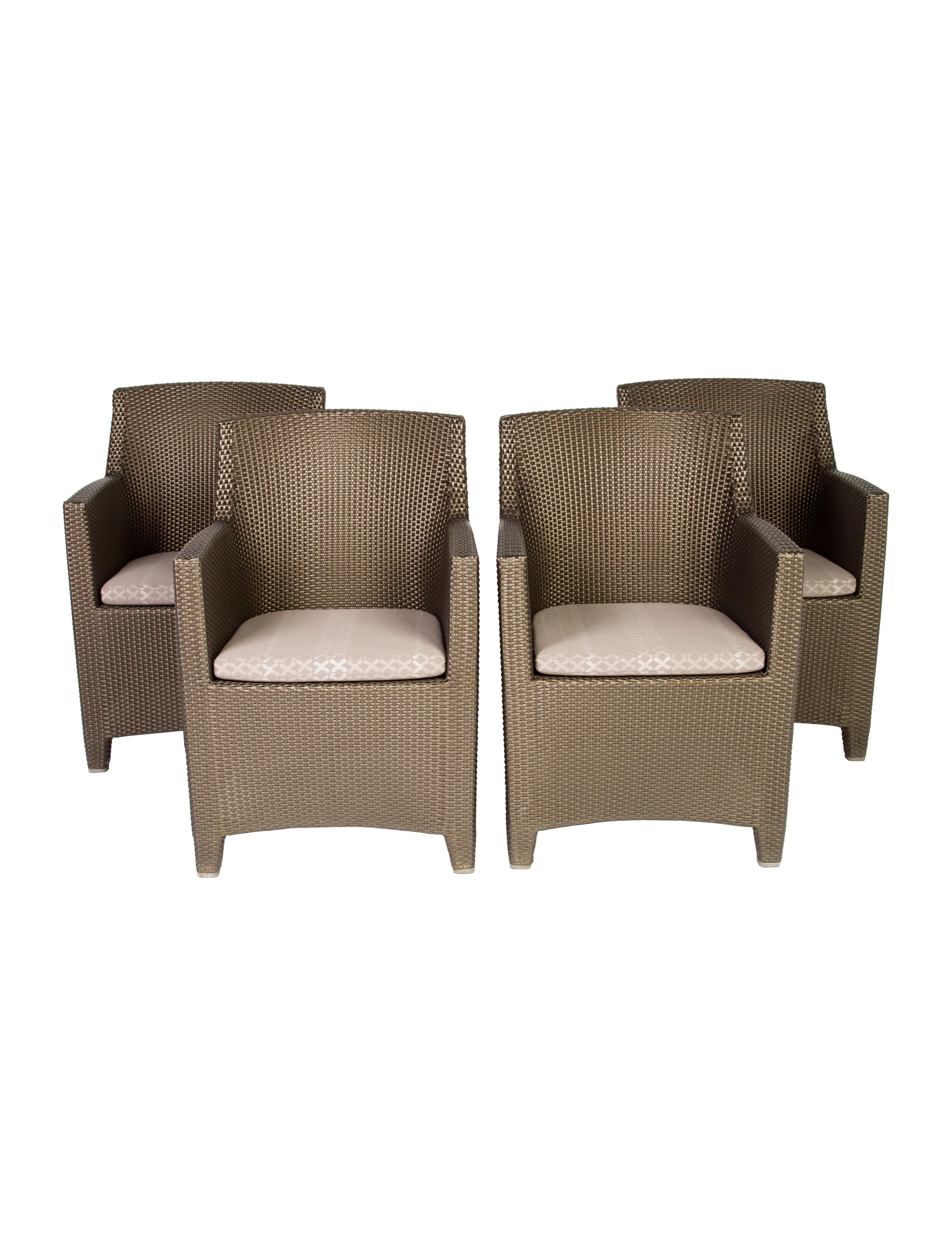 Dedon Barcelona Dining Chairs