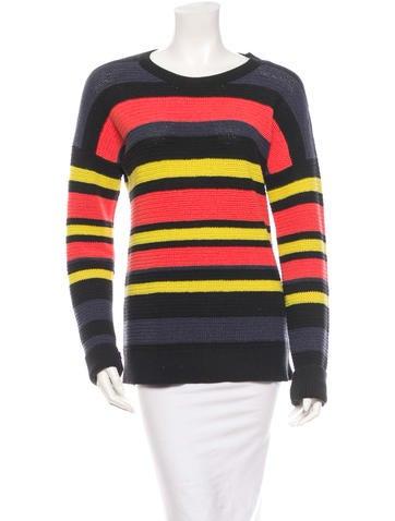 Jason Wu Striped Sweater None