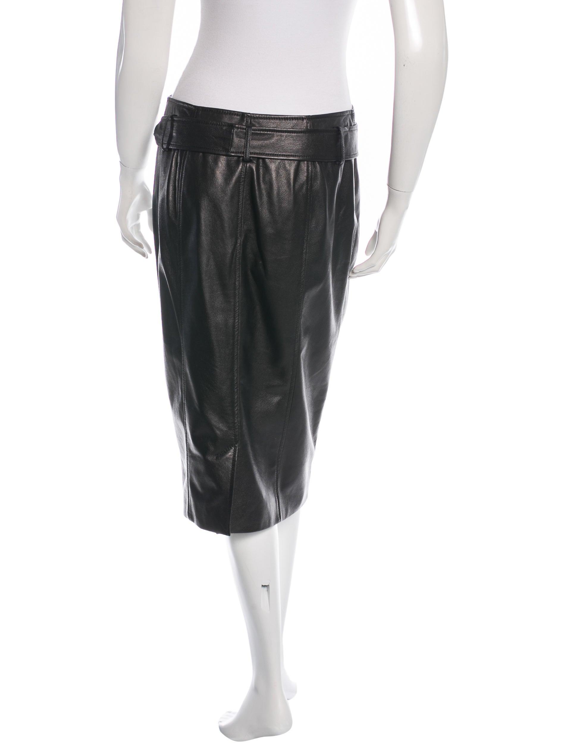 jason wu leather moto skirt clothing jas22768 the