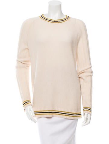 Jason Wu Cashmere Striped Sweater None
