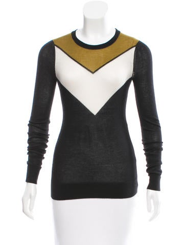 Jason Wu Cashmere Colorblock Sweater None