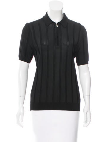 Jason Wu Knit Short Sleeve Top None