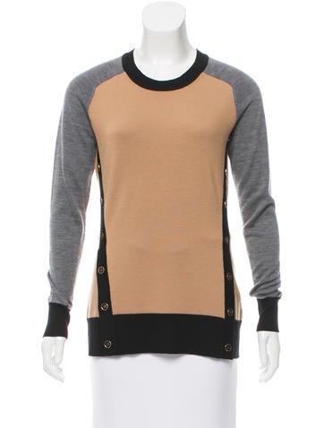 Jason Wu Wool Colorblock Sweater None