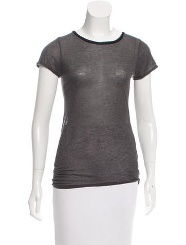 Jason Wu Short Sleeve Knit Top None
