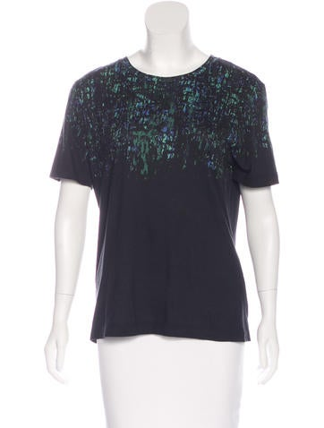 Jason Wu Printed Short Sleeve T-Shirt None
