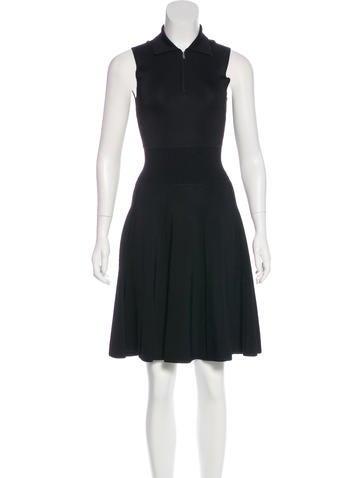 Jason Wu Collared Zip-Up Dress None