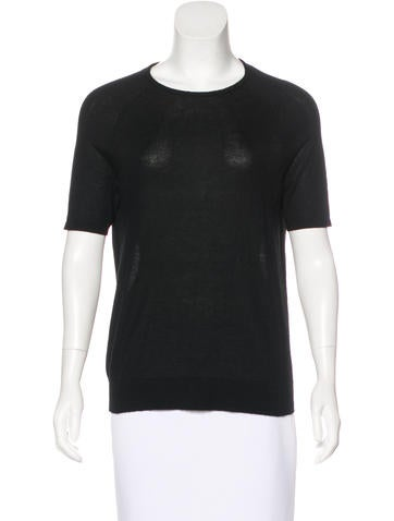 Jason Wu Cashmere Short Sleeve Top None