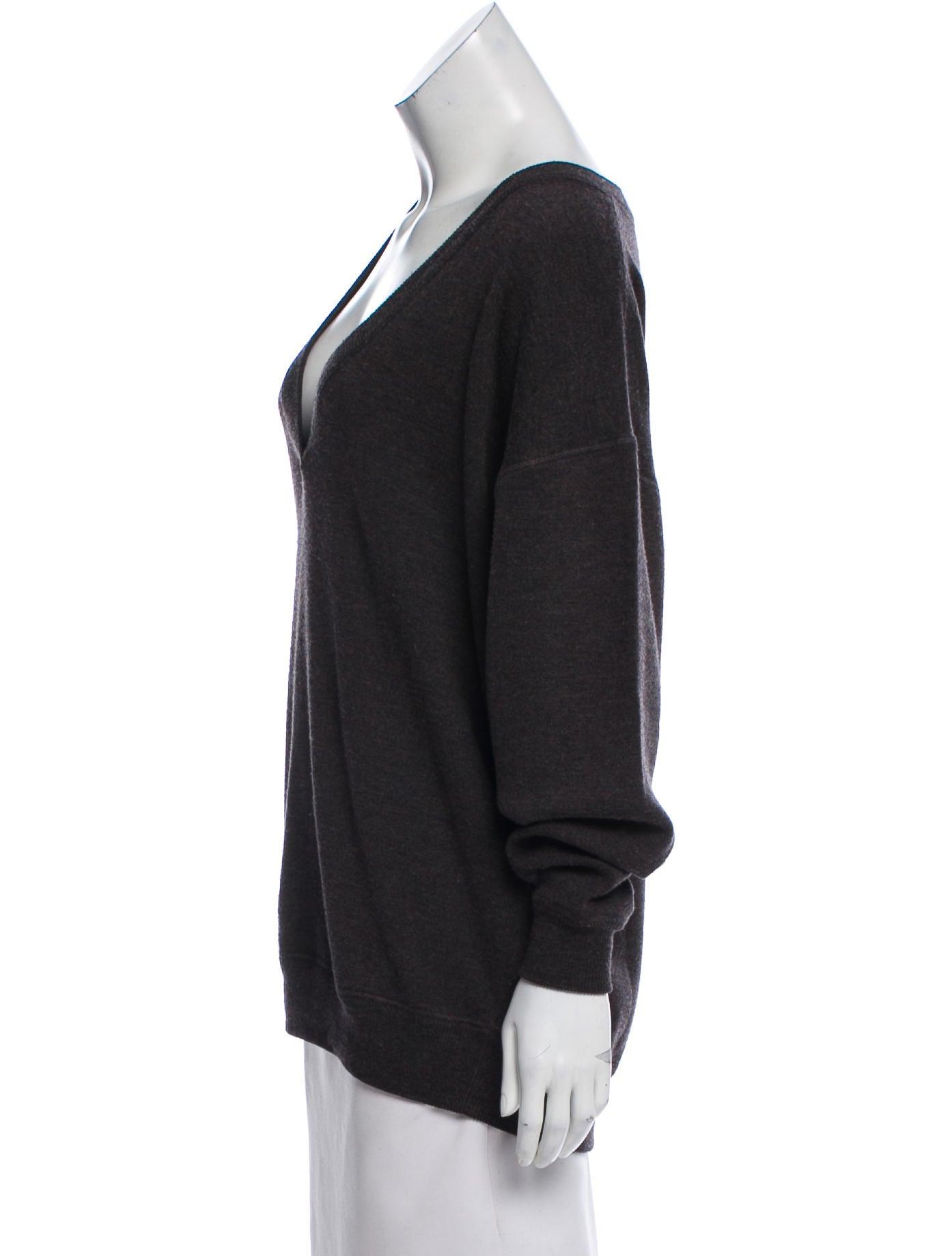 Jason Wu Oversize Wool Sweater - Clothing - JAS24582 | The RealReal