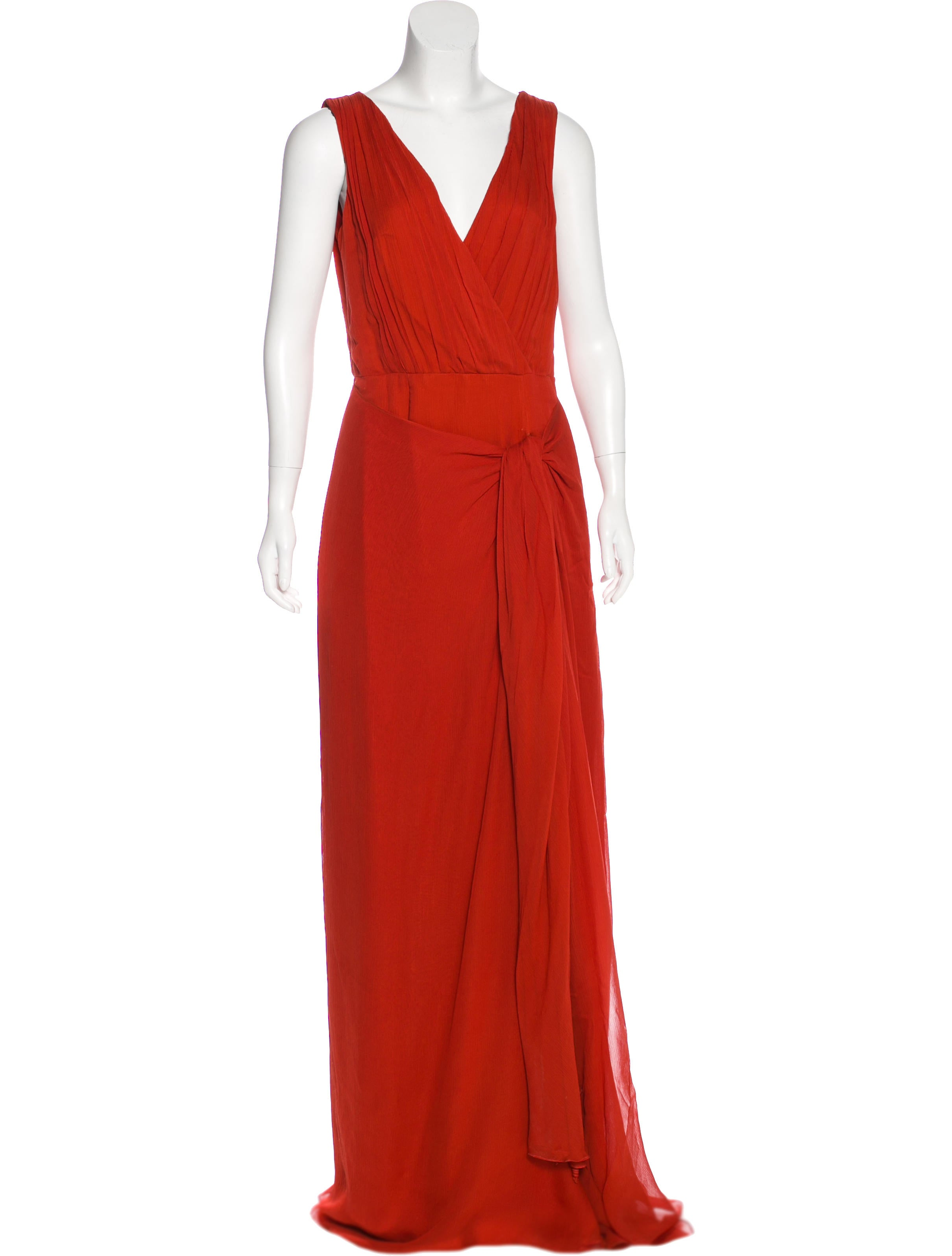Jason Wu Silk Evening Gown - Dresses - JAS24609 | The RealReal
