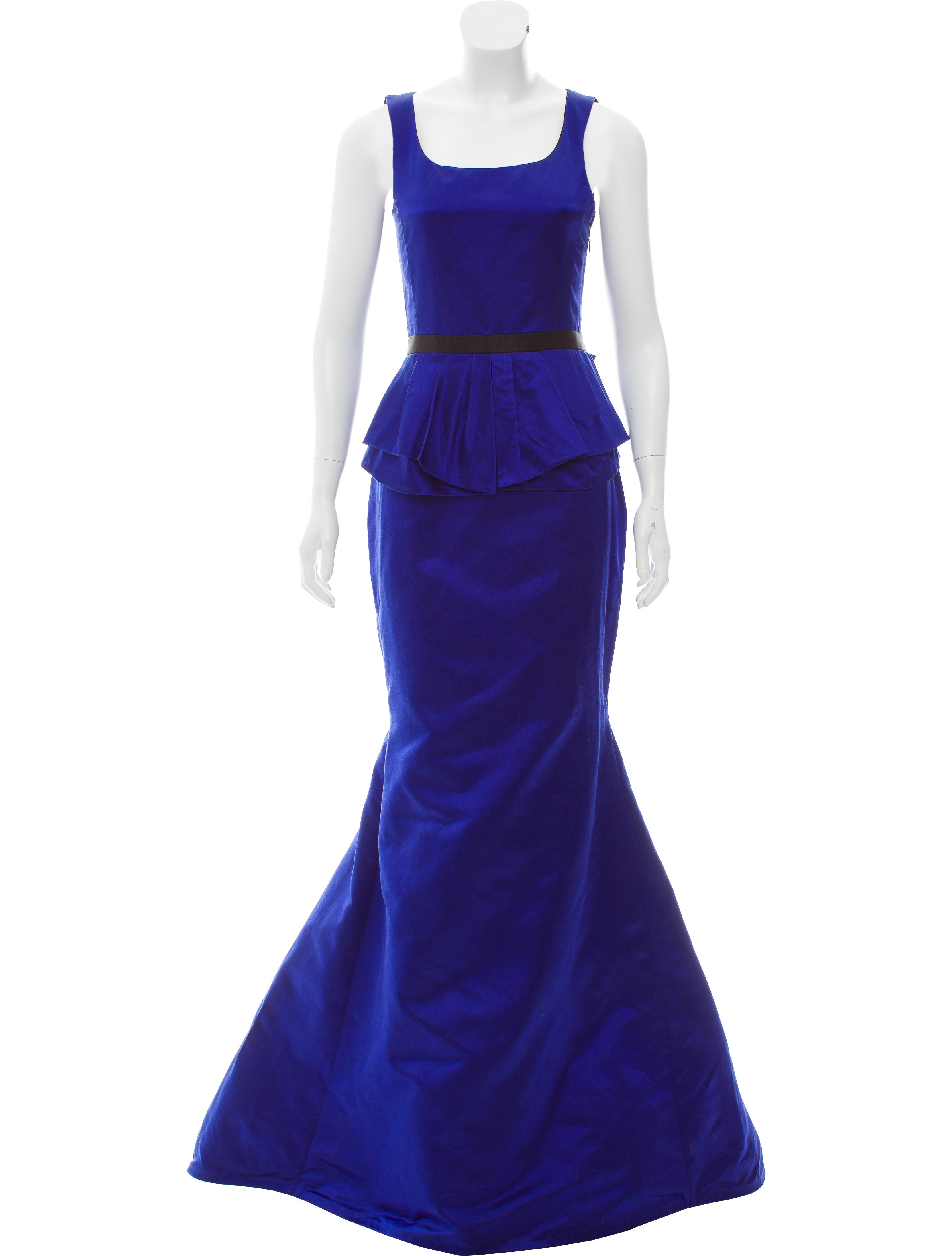 Jason Wu Sleeveless Evening Gown - Dresses - JAS24827 | The RealReal