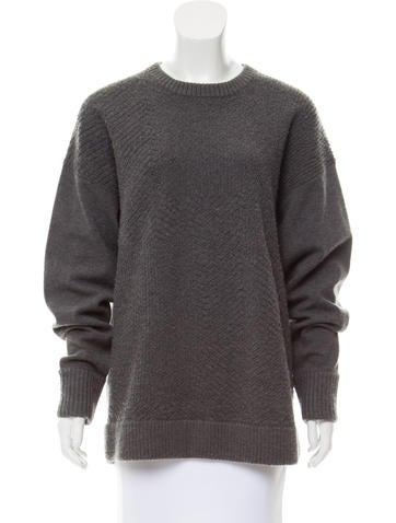 Jason Wu Cashmere and Wool-Blend Sweater None