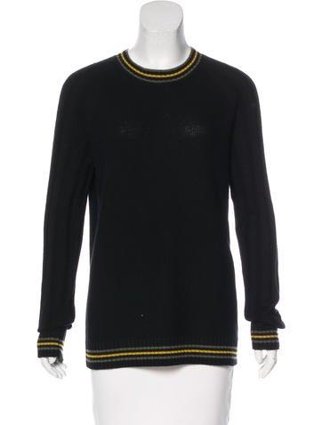 Jason Wu Striped Cashmere Sweater None