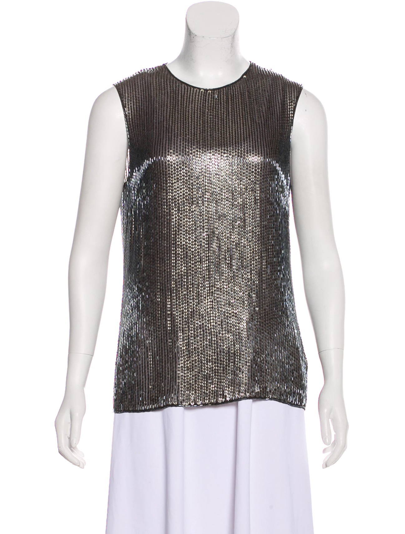 5bda6e05d4cb14 Jason Wu Silk Bead Top w  Tags - Clothing - JAS27953