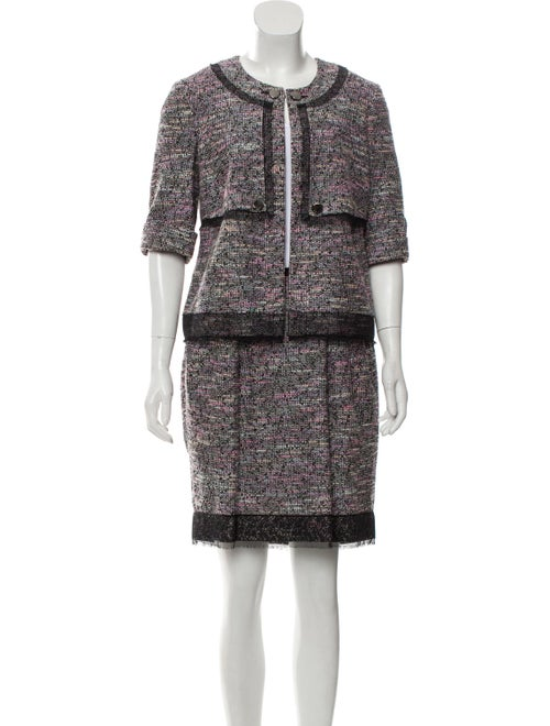 Jason Wu Tweed Skirt Set Pink