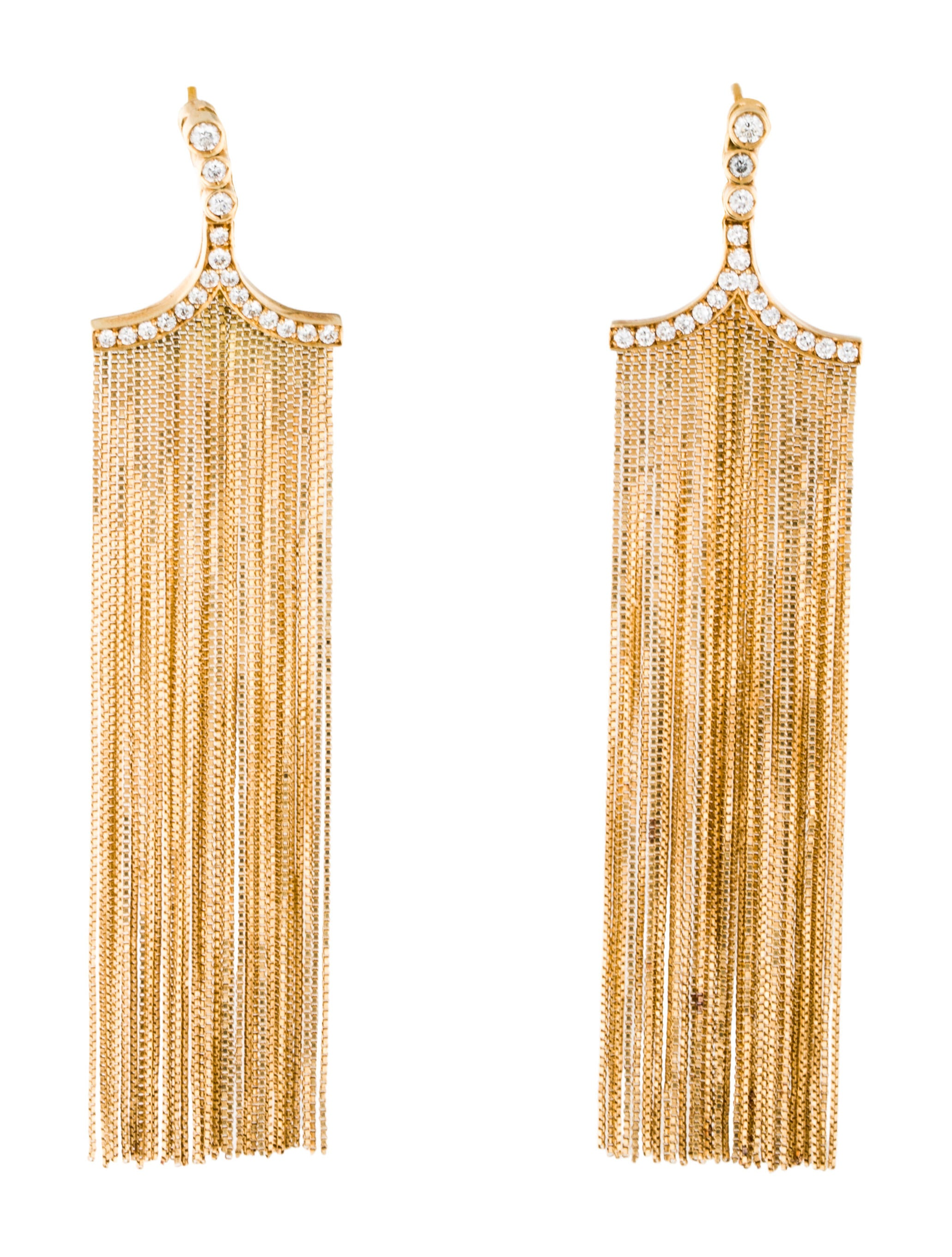 jasper stella dot home earrings fringe p