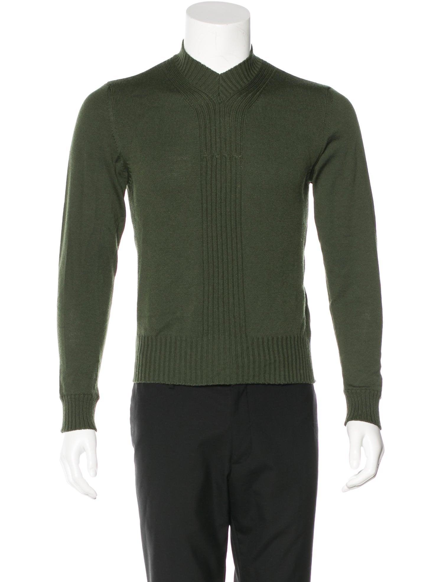 John Bartlett Wool Cropped Sweater - Clothing - JBT20040 | The ...