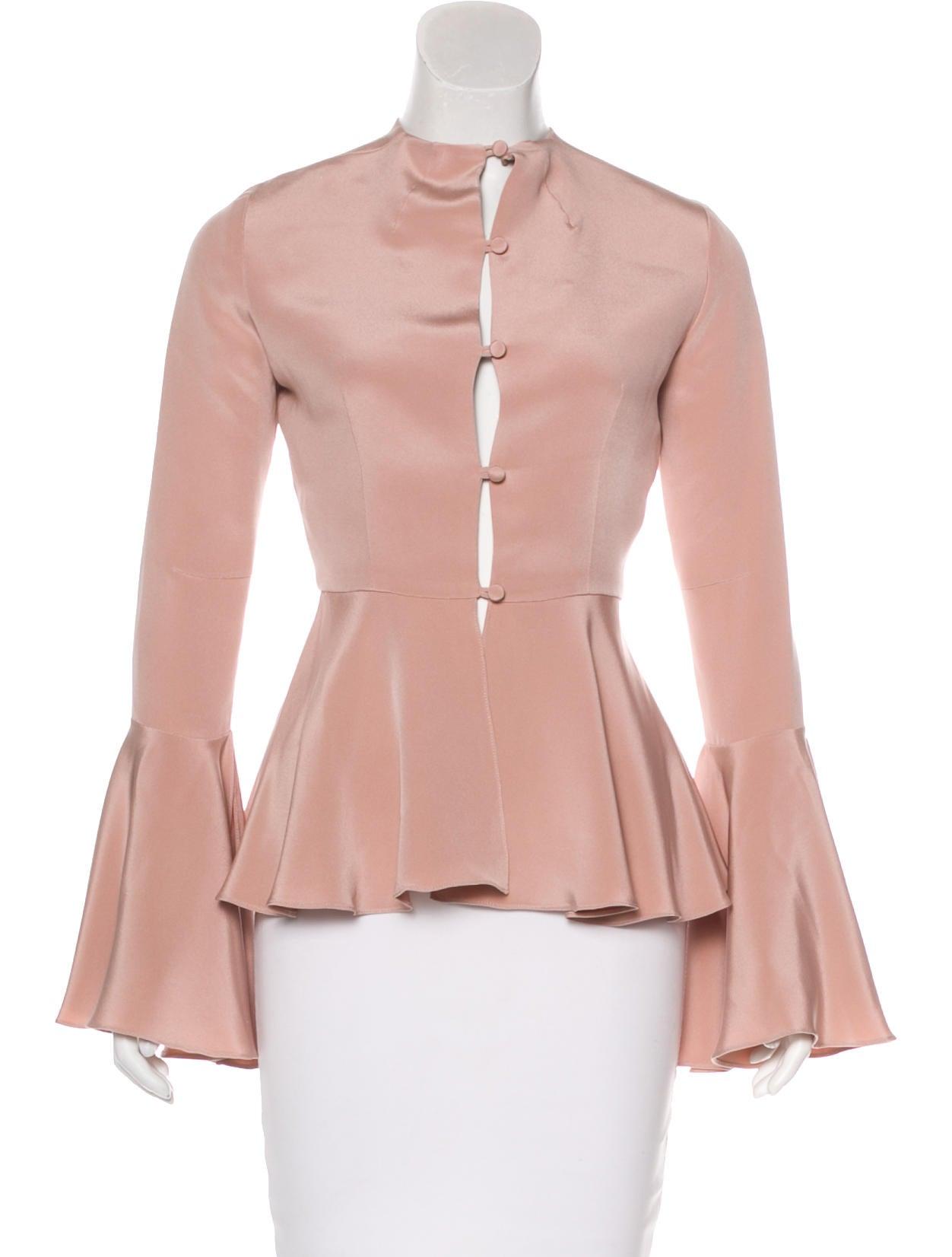 Obando Silk Jco20206 Roxy Carlos Juan Crepe Blouse Clothing byI67Ygfv