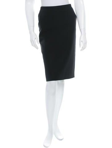 Jean Paul Gaultier Wool Skirt