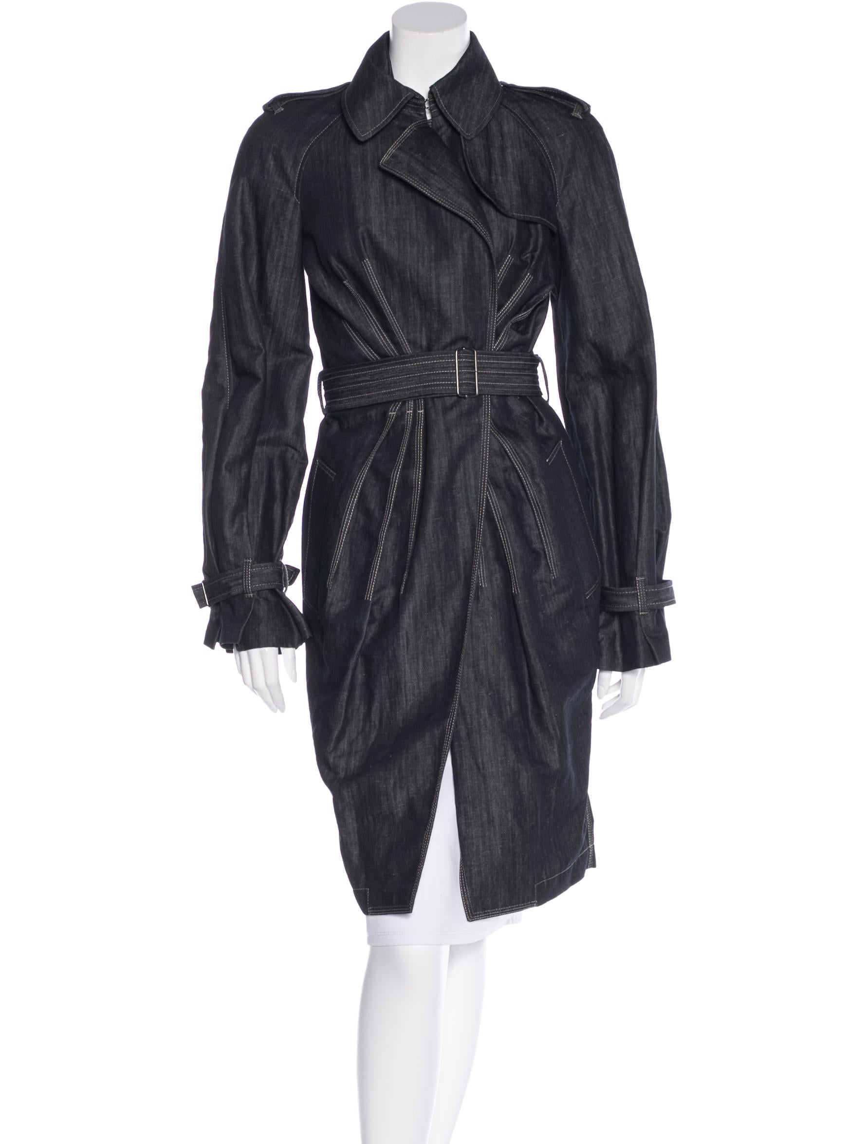 Jean paul gaultier lightweight trench coat clothing for Jean paul gaultier clothing