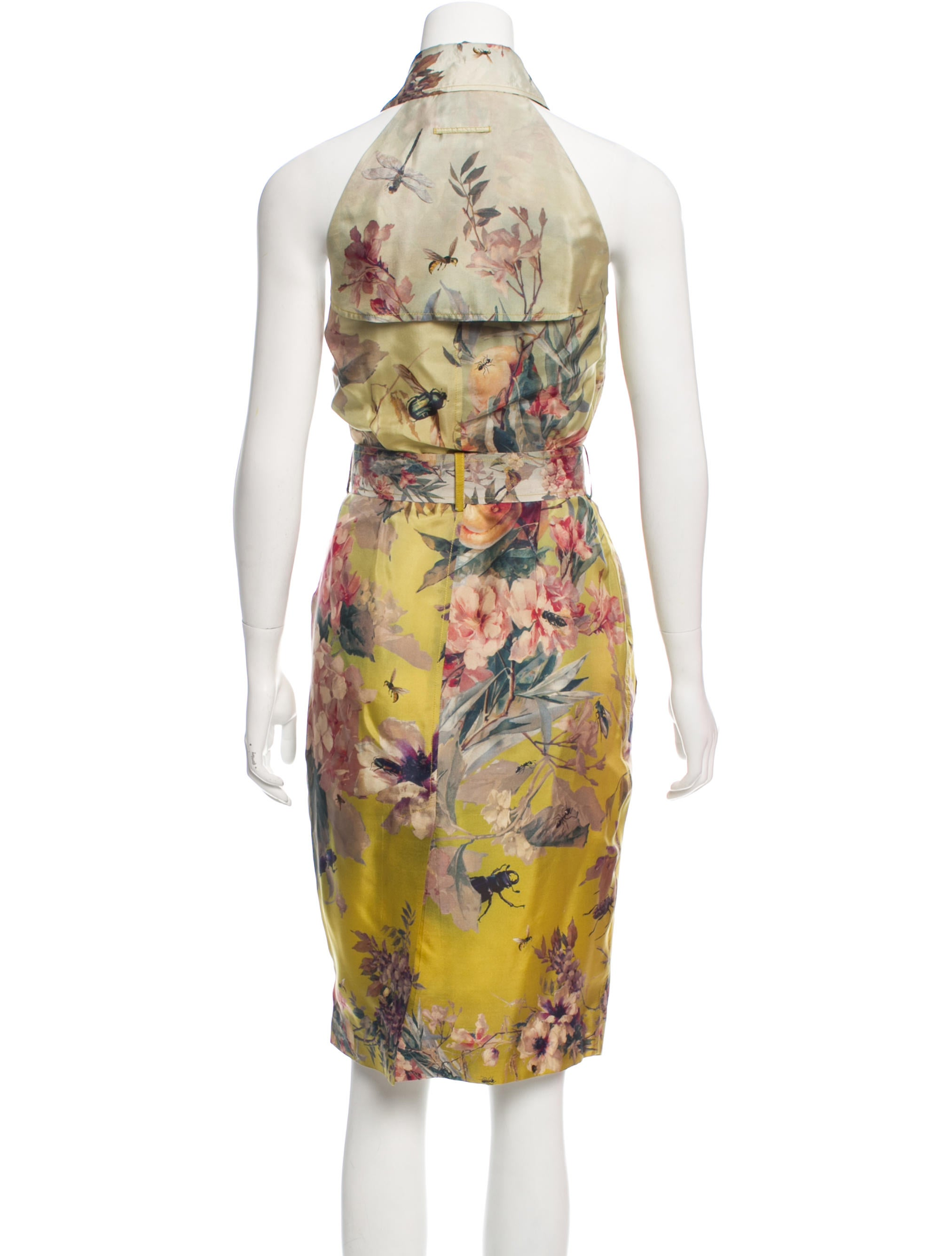 Jean paul gaultier silk wrap dress clothing jea26158 for Jean paul gaultier clothing