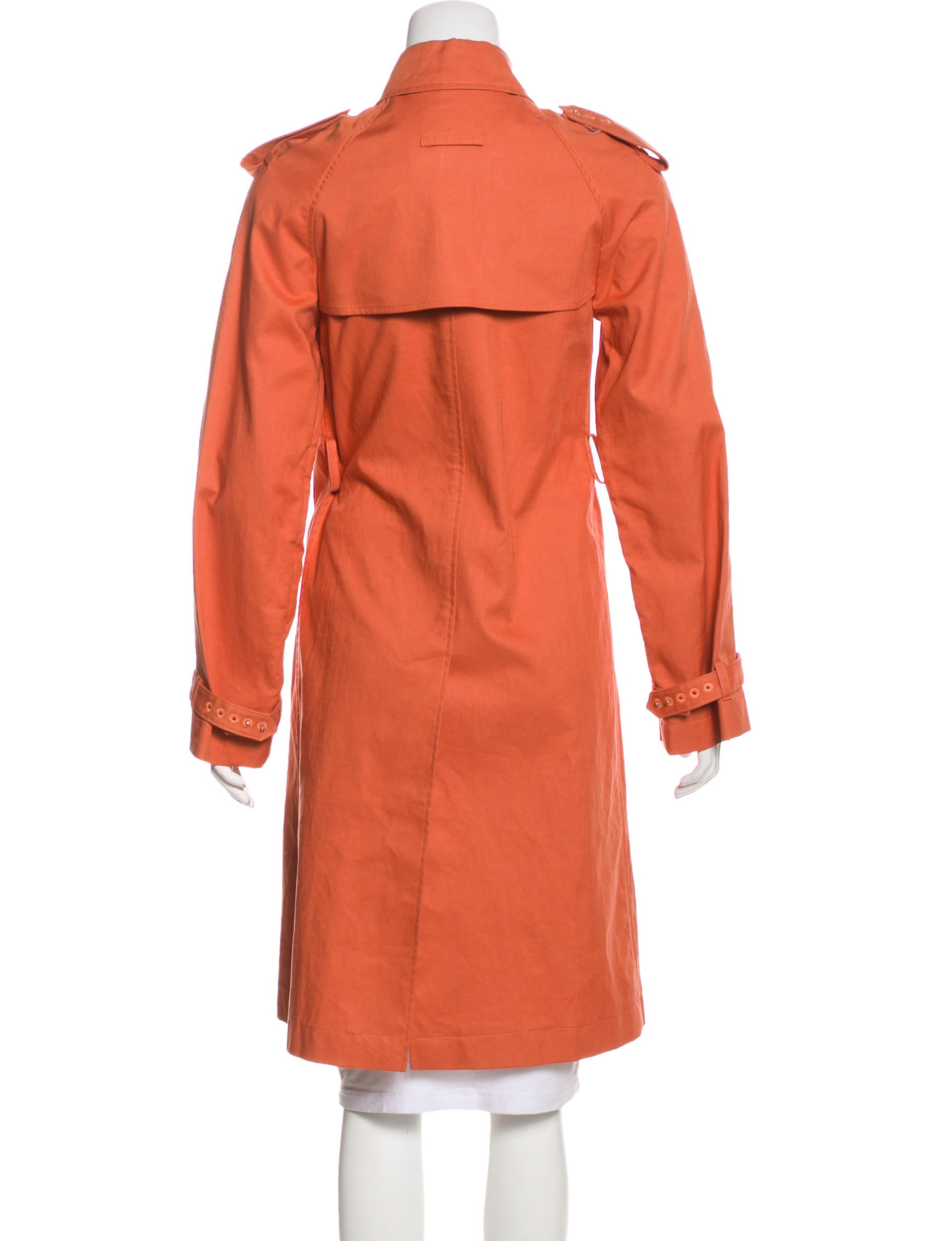 Jean paul gaultier belted trench coat clothing for Jean paul gaultier clothing