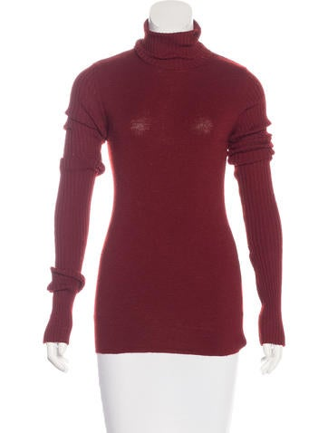 Jean Paul Gaultier Wool Turtleneck Top None