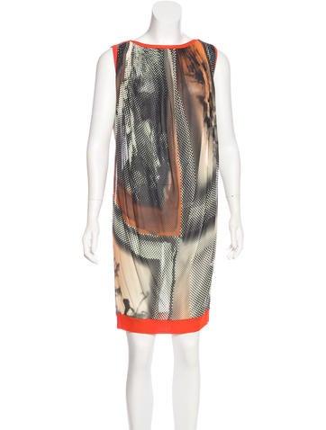 Jean Paul Gaultier Sleeveless Knee-Length Dress None