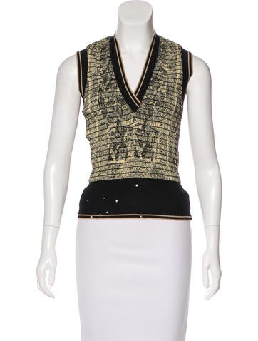 Jean Paul Gaultier Silk Abstract Print Blouse None